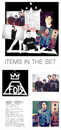 """Fall Out Boy"" by brynlin ❤ liked on Polyvore featuring art"