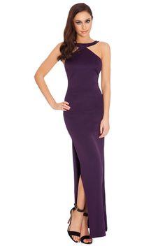 af5b6c1adb57e City Goddess Latina Maxi In The Style Of Jennifer Lopez Purple. Divas Lobby  · Women's Dresses