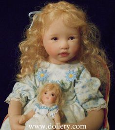 Julie Fischer one of a kind polymer Doll - Alana
