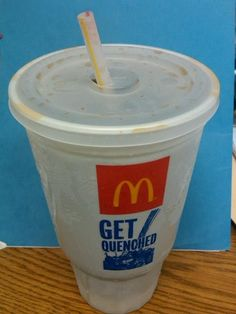 Nothing better than a Mc Donalds diet coke with extra ice!