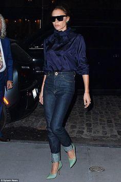 Hier gehts zum Outfit: Die coolen High Heels von Victoria Beckham