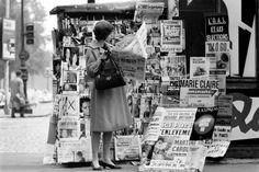 Newstand Paris 1963 Norman Karlson