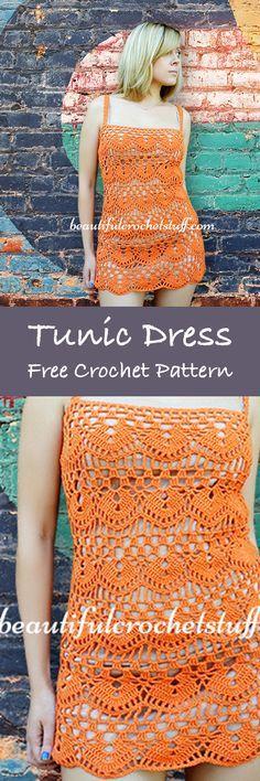 Summer Dress Free #Crochet Patterns – Krazykabbage