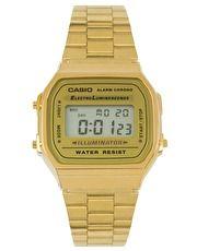 Reloj digital chapado en oro A168WG-9EF de Casio