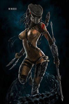 Predator Girl - skribbliX.deviantart.com