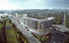 Gallery of Aedas Wins Competition for Dragon/Phoenix-Inspired Transportation Hub in Sanya, China - 7