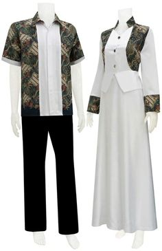 gorgeous Batik Fashion, Abaya Fashion, Muslim Fashion, Batik Muslim, Samoan Dress, Batik Couple, Batik Dress, Hijab Dress, Fashion Couple