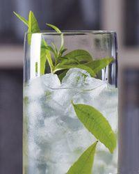 cinque terre: lemon verbena, orange zest, lemon zest, sweet white vermouth, prosecco, green chartreuse