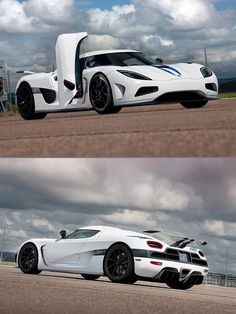Agera 2013, the white looks better I think...