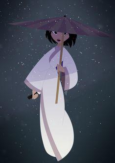 — foxbyart: Ashi Snowblood Ashi from Samurai Jack,...