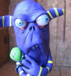 ooak monster Berta by mealymonster on Etsy, $42.00
