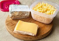 Как заморозить сыр - рецепт с пошаговыми фото / Меню недели