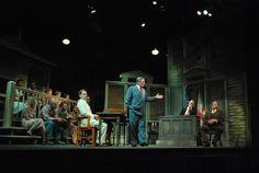 To Kill a Mockingbird 34 Street, To Kill A Mockingbird, Theatre Design, Scenic Design, Play Houses, Staging, Scene, The Unit, Set Design