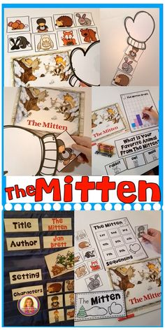 Do you love using the book, The Mitten, in your classroom during winter? These 16 story activities are a perfect supplement to the book.