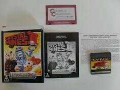 Crystal mines 2.Atari Lynx .completo!!