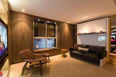 O arquiteto e empresário Fabio Cherman abusou da criatividade e criou um espaço prático e amplo