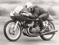 World Champion Geoff Duke. January 1957. (Image supplied by Ken MacLeod)