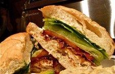 Parmesan Chicken Burger www.uncommon-cuisine.com