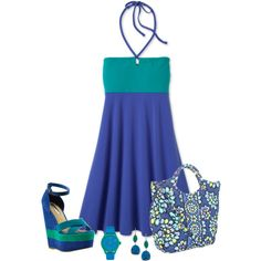 """""""cute sundress"""" by missy-smallen on Polyvore"""
