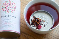 RED RUBY -Früchtetee mit Wildbeeren // fruit tea with wild berries #red #berries