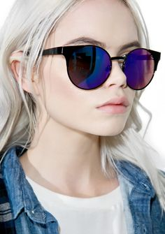 b8417dec32 Quay Eyeware Night Asha Sunglasses are perf fer a sneaky grrl like yew.  These chic
