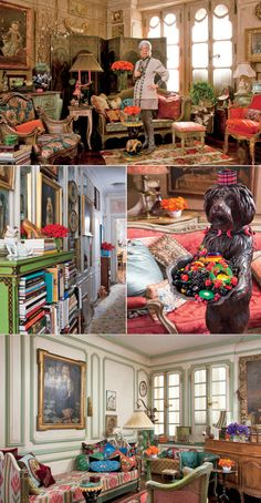 Iris Apfel and her home