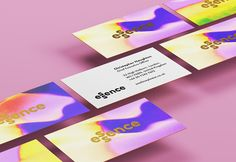 The Bold Studio / Essence #graphic #design #brand #identity #cosmetics #business #card