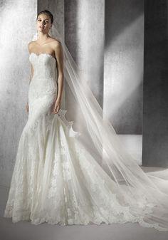 San Patrick 2016 Collection   Beautiful Lace Wedding Dress - Hong Kong   LMR Weddings