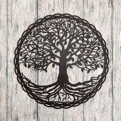Drevený strom života na stenu - Dub Meditation, Symbols, Art, Art Background, Kunst, Performing Arts, Glyphs, Art Education Resources, Zen