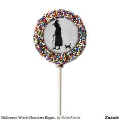 Halloween Witch Chocolate Dipped Oreo Pop.