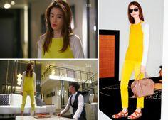 Jun Ji-hyun (Gianna) / Cheon Song-yi fashion Louis Vuitton Cruise 2014 Icon Collection(Charlotte Perriand)