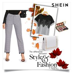 """Shein 99"" by zerina913 ❤ liked on Polyvore featuring Too Faced Cosmetics and shein"