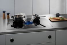 BORA Pure Extractor Hob | Choice of Colours for Central Extractor | High Performance Hob with Integrated Extraction | Quiet | Simple to Clean | No Cooking Smells #bora #hobs #germanengineering #kitchens
