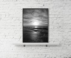 Nature print sea sunset photography prints by BonVoyageStudio