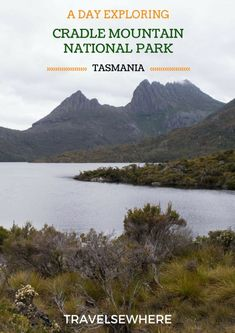 One of the most popular and stunning national parks in Tasmania, Cradle Mountain National Park is home to breathtaking landscapes, plenty of hiking trails and even the occasional wombat, via Tasmania Travel, New Zealand Travel, Travel Images, Australia Travel, Hiking Trails, Outdoor Travel, Adventure Travel, Traveling By Yourself, Travel Inspiration