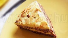 Anya főztje: Az ikeás svéd mandulatorta Hungarian Recipes, Hungarian Food, Almond Cakes, Gluten Free Cakes, Sweet Cakes, Food Photography, Cheesecake, Food And Drink, Pie