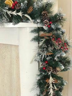 Guirlande de Noël traditionnel swag Noël guirlande de Noël | Etsy