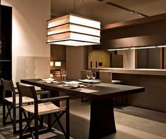 """Armani kitchen. Armani teamed up with """"dada"""" to produce kitchens."""