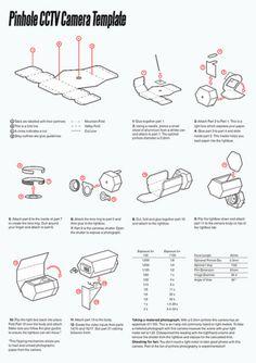 Ueberwachungskamera aus Papier zum selber basteln 4