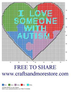 Must must use this to raise money for The Toby Henderson Trust Plastic Canvas Tissue Boxes, Plastic Canvas Crafts, Plastic Canvas Patterns, Cross Stitch Heart, Beaded Cross Stitch, Cross Stitch Patterns, Needlepoint Patterns, Autism Crafts, Alphabet