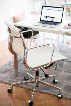 lexmod ribbed mid office. Office Update: Chairs \u0026 Shelves - The Daily Dose Lexmod Ribbed Mid