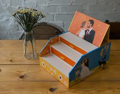 Una caja de fotos inspirada en la boda