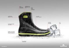 Winter Boot rendering