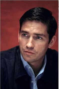 Jim Caviezel -- love this guy on person of interest, sooo handsome , easy manner--