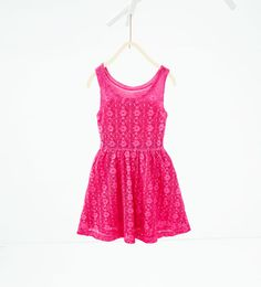 Lace dress from Zara