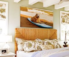 beach themed bedroom decor - home interior Coastal Bedrooms, Coastal Homes, Coastal Living, Coastal Decor, Beach Bedrooms, Modern Coastal, Coastal Style, Coastal Industrial, Coastal Farmhouse