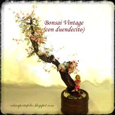 Arte Manual: Tutorial Bonsai Vintage