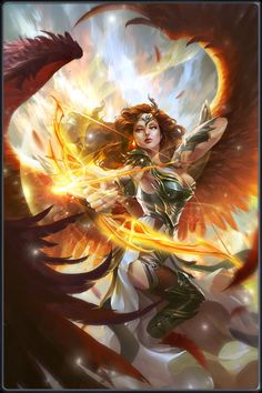 Angelic Archer Skill These fearless Angels, chosen by Jezebel Ivorybow amongst the most valuable of the Arcane Archers, often get paired with the Flametruth Avengers to take down enemies from a distance.