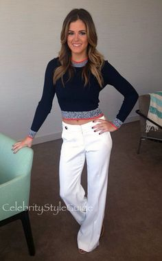 Jojo Fletcher Style and Fashion - ramy brook LINCOLN PANT on Celebrity Style Guide