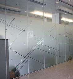Glass Sticker Design, Glass Film Design, Frosted Glass Design, Frosted Glass Door, Glass Partition Designs, Glass Office Partitions, Corporate Interiors, Office Interiors, Office Cabin Design